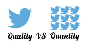 Kwantiteit vs. Kwaliteit
